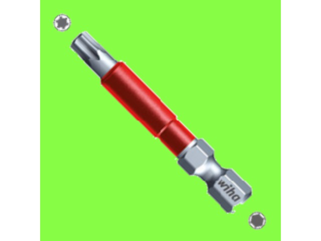 Visserie et bricolage : Wiha : WIHA- Embouts - Embouts Maxxtor - Embouts MaxxTor de 49 TORX forme E 6,3