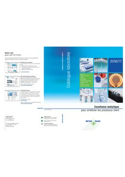 Catalogue Laboratoire METTLER TOLEDO