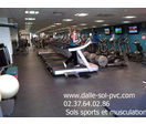 DALLE DE SOL MUSCULATION PROTECTION CAOUTCHOUC SPORT FITNESS