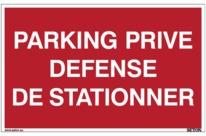 panneau de parking stationnement g nant interdit de stationner contact seton. Black Bedroom Furniture Sets. Home Design Ideas