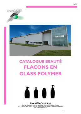 CATALOGUE FLACONS GLASS POLYMER