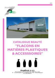 Catalogue BEAUTE Flacon plastique