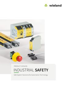 Industrial safety - Safe system solutions for automation technology