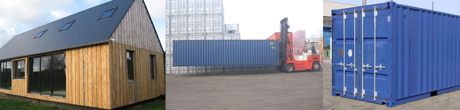 toutes les utilisations d un container transport stockage mais aussi habitation. Black Bedroom Furniture Sets. Home Design Ideas