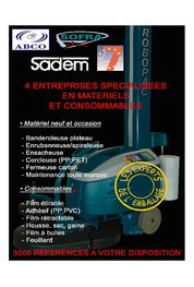 Sadem_Catalogue de nos machines