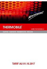 Catalogue Thermobile 2017/2018