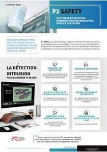 Brochure système de détection-intrusion P2 Safety