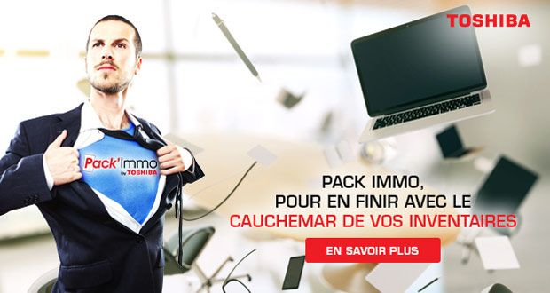 PACK' IMMO By Toshiba