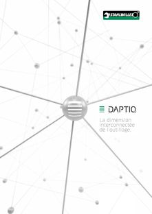 DAPTIQ - La dimension interconnectée de l'outillage STAHLWILLE