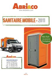 Sanitaires mobile