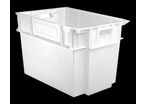 Bac alimentaire blanc 600x400 volume 70 litres