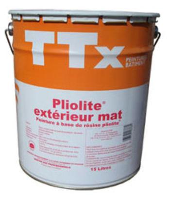 Peinture fa ade garnissante ttx pliolite ext rieur mat for Peinture facade pliolite