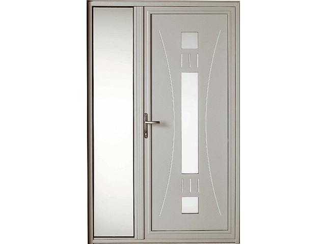 Porte Du0027entrée Design Basalte + Semi Fixe ...