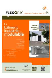FLEXONE® Le Bâtiment Industriel Modulable
