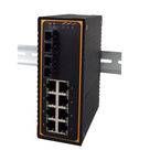 Switch Ethernet Industriel 8 ports 10/100 Base Tx + 2 fibres Gigabit Multi ou Monomode - EH7310-G-2F