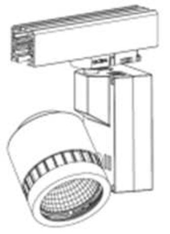 eclairage int rieur projecteur sur rail 1330lm contact thomson lighting. Black Bedroom Furniture Sets. Home Design Ideas