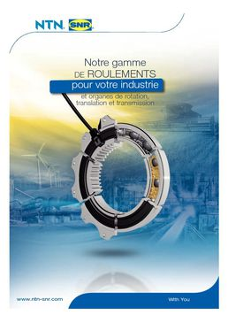 Catalogue Gamme Industrie NTN-SNR