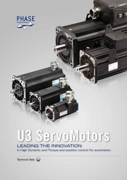 Catalogue Gamme Ultract - Servomoteurs brushless