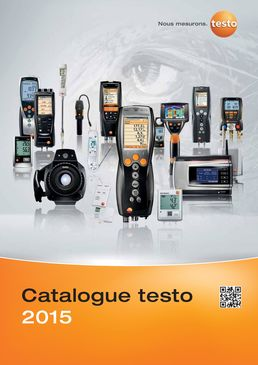 Catalogue Testo 2015