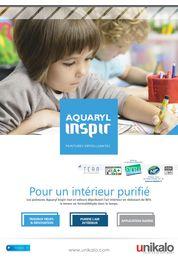 Tous les catalogues et brochures techniques peinture acrylique for Aquaryl mat