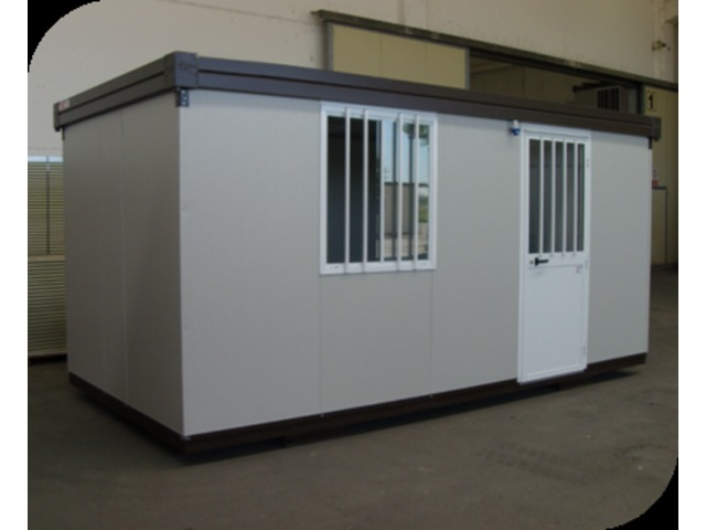 Cabine bureau industriel 6x3 mètres contact setam rayonnage et