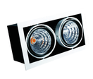 Spot led double orientable 2x40W avec transformateur PHILIPS