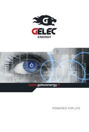Catalogue GELEC Energy FR