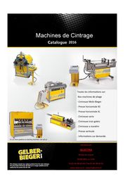 Machines de pliage et cintrage