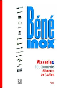 Catalogue Visserie & Boulonnerie - éléments de fixation