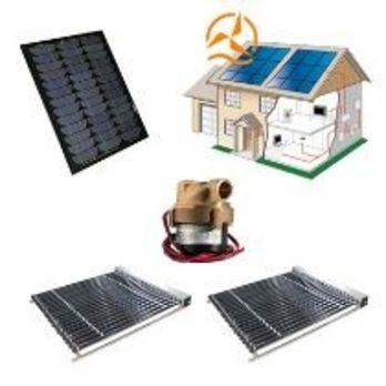 Kit complet capteur solaire tubes sous vide avec for Chauffe eau solaire sous vide