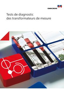 Tests de diagnostic des transformateurs de mesure