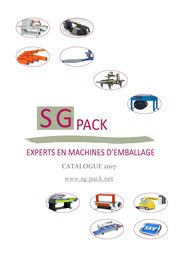 Catalogue 2017 _Machines d'emballage_SGPACK