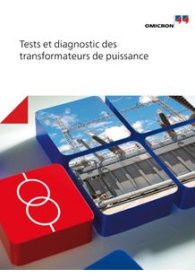 Tests et diagnostic des transformateurs de puissance