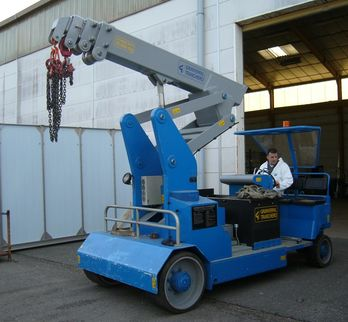 Grues mobile en charge - Minidrel 125BR