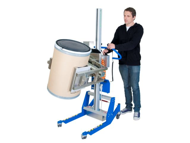 Chariot manipulateur avec Squeeze-o-Turn Lift&Drive