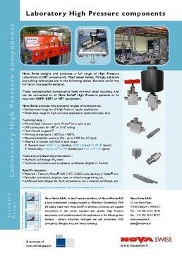 Gamme Laboratoire (LHP)