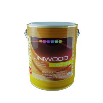uniwood thd f56 lasure satin e tr s longue durabilit a base de r sine alkyde en phase solvant. Black Bedroom Furniture Sets. Home Design Ideas