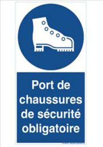 Signaux d 39 obligation port de chaussure de securite - Port des lunettes de securite obligatoire ...