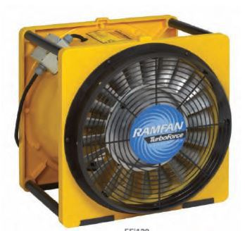 ventilateur extracteur de grand volume d 39 air ub40 ramfan. Black Bedroom Furniture Sets. Home Design Ideas