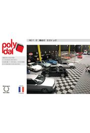 Dalles POLYDAL pour GARAGE ATELIER SHOWROOM - Pose Simple et Rapide