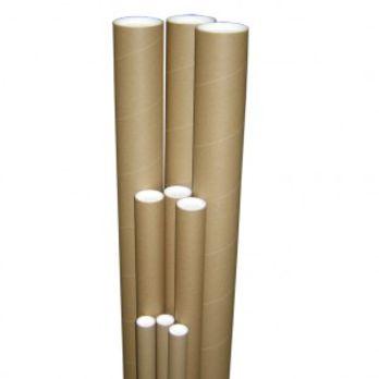 tube carton avec embouts plastiques contact gesflux. Black Bedroom Furniture Sets. Home Design Ideas