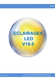 CATALOGUE ECLAIRAGES LED