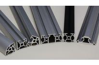 profil aluminium arrondi 30x30 fente de 8 mm contact systeal. Black Bedroom Furniture Sets. Home Design Ideas