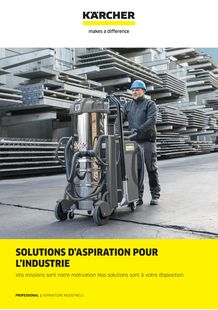 Brochure Solutions d'Aspiration