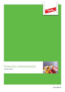 Catalogue DEHN - Protection antisurtension