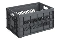 caisse plastique pliable verte d 39 un volume 46 litres contact rangestock. Black Bedroom Furniture Sets. Home Design Ideas