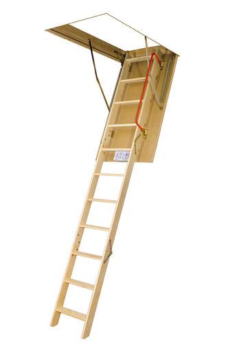 Escalier escamotable lws smart contact fakro france for Escalier escamotable grenier