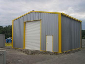 hangar metallique acier galvanise contact francemetal. Black Bedroom Furniture Sets. Home Design Ideas