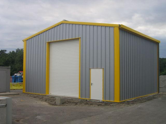 Hangar Metallique Acier Galvanise