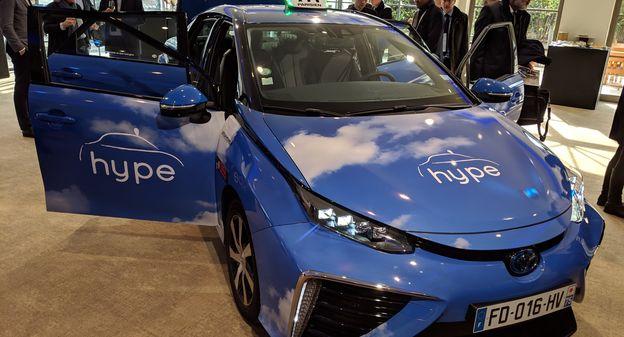 Pourquoi Total s'invite au capital de HysetCo, champion français des taxis à hydrogène